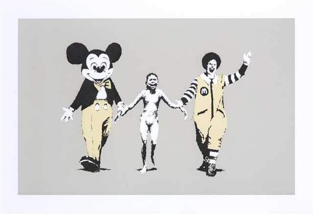 Banksy, 'Napalm', 2004, Tate Ward Auctions