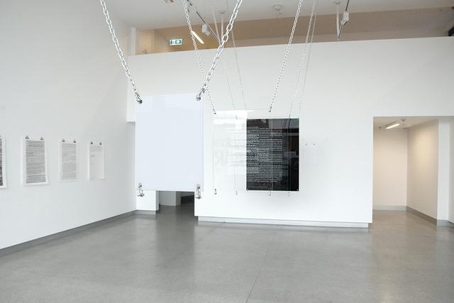 , 'Apologies (installation view),' 2018, MARS