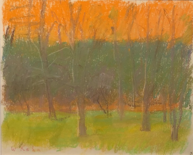 , 'Orchard at Dusk,' 1989, Anderson Fine Art Gallery
