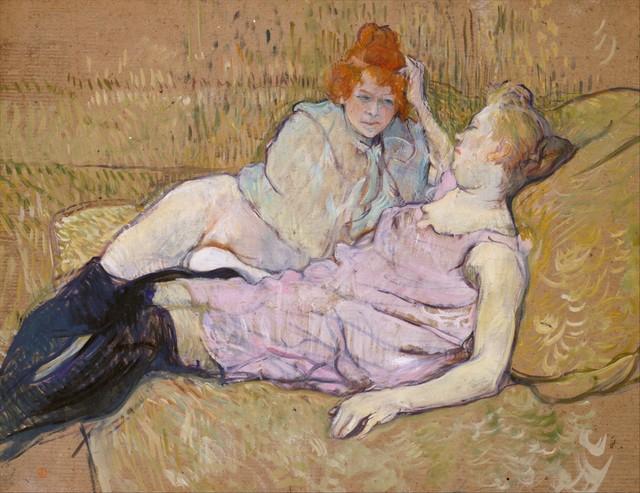 Henri de Toulouse-Lautrec, 'The Sofa', ca. 1894–1896, The Metropolitan Museum of Art