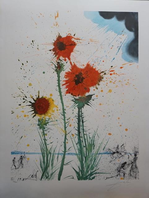 Salvador Dalí, 'Spring Explosive', 1965, Print, Lithograph, Fine Art Acquisitions Dali