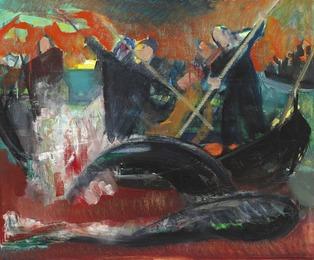 Whale Killing Scene, the Faroe Islands