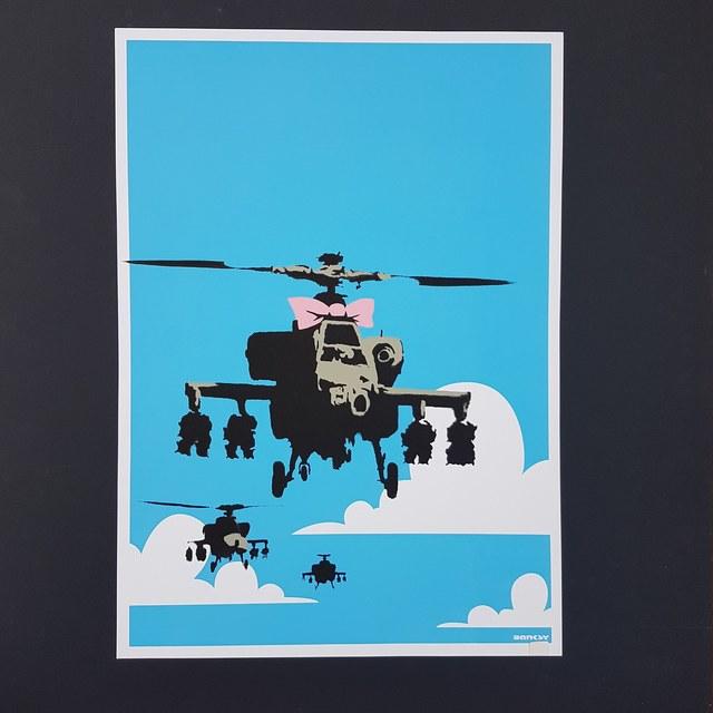 Banksy, 'Happy Choppers', 2003, Castle Gallery