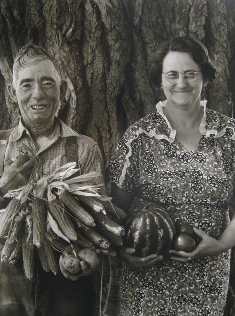 , 'Mr. & Mrs. Andy Bahain, FSA borrowers on their farm near Kerry, Colorado,' 1939, PDNB Gallery