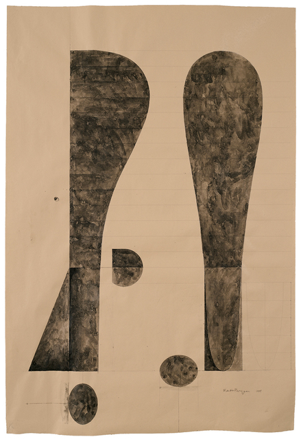 , 'Untitled, Drawing for Bearing Witness,' 1995, Smithsonian American Art Museum