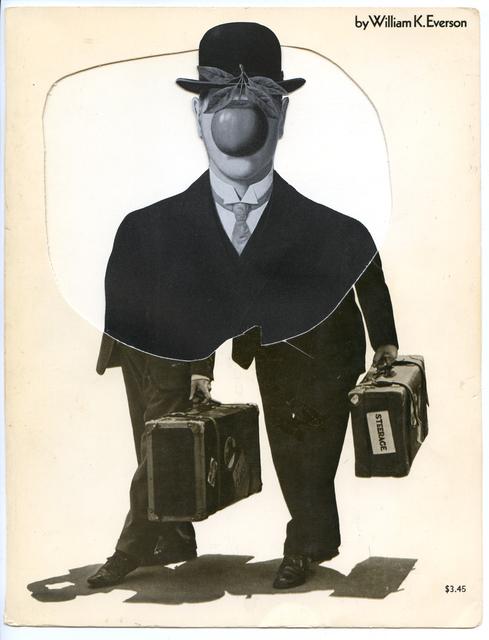 , 'Collage Nr. 150 (Dick und Doof/Magritte),' 2009, Niklas Schechinger Fine Art.