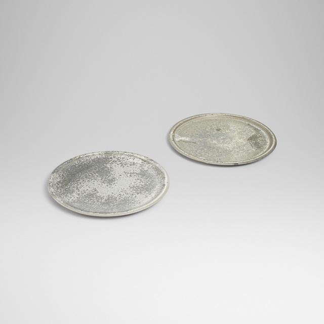 Aage and Kasper Wurtz, 'plates, pair', Wright