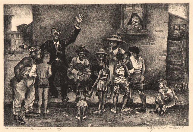 , 'Summer Sermon c. 1940,' ca. 1940, Dolan/Maxwell