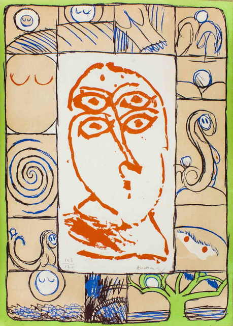 Pierre Alechinsky, 'Ophtalmologue', 1972, Wallector