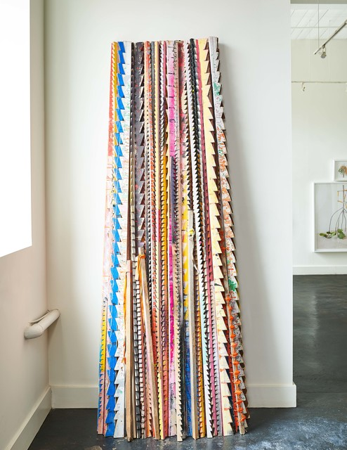 , 'Sawtooth Sticks,' 2018, Hodges Taylor