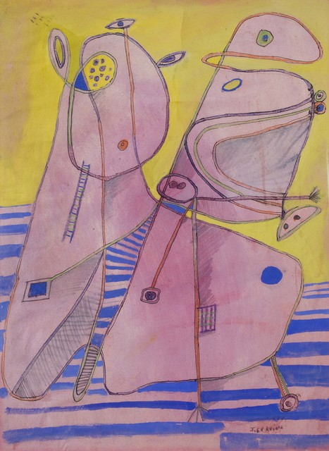 , 'Formas animadas,' 1966, Galeria Sur