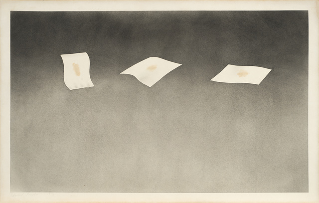 Ed Ruscha, 'Three Sheets with Raisin Stains', 1973, Il Ponte