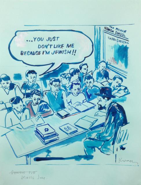 , 'Jewish Joke,' 2015, Pierogi