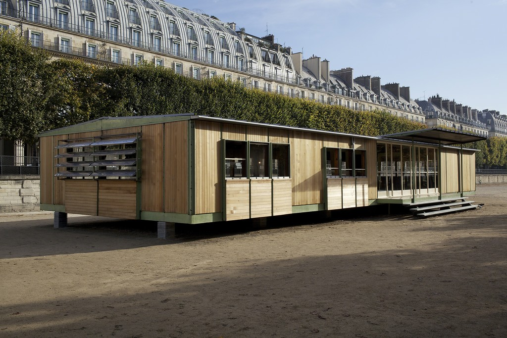 Ferembal Demountable House, adaptation Jean Nouvel