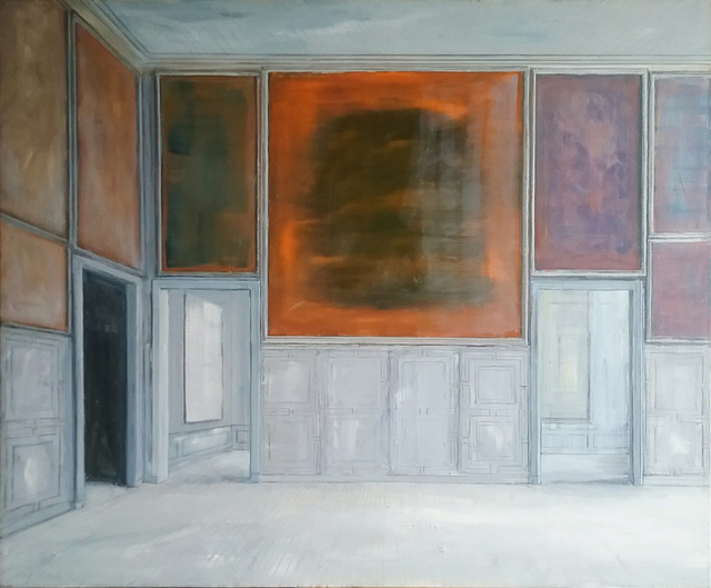 , 'Grey Panelling,' 2018, Octavia Art Gallery