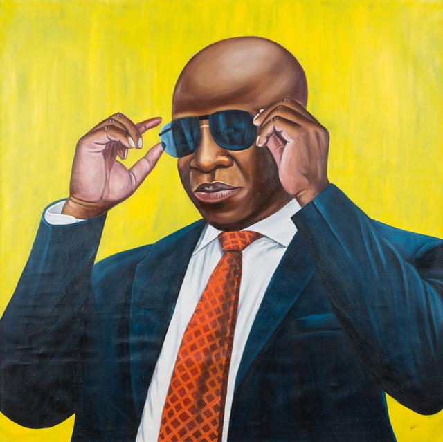 Zemba Musiri Lutanda Luzamba, 'Seen it all', 2017, Africa Bomoko