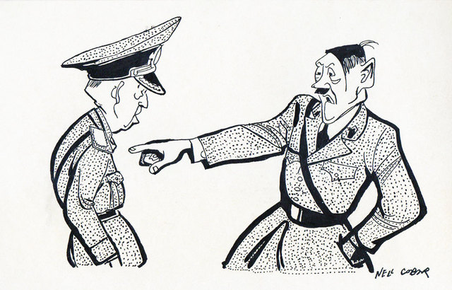 , 'Hitler and Ion Antonescu,' ca. 1953, Nasui Collection & Gallery