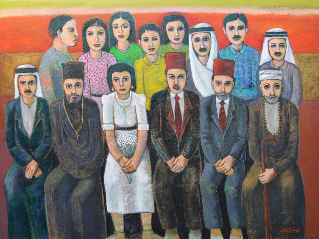 , 'Mansour Family, Birzeit (1922),' 2014, Zawyeh Gallery