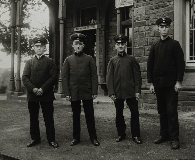 August Sander, 'Railway Officials, c. 1925', Galerie Julian Sander