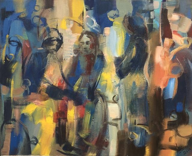 , 'Blue Mood,' 2016, Art Village Gallery