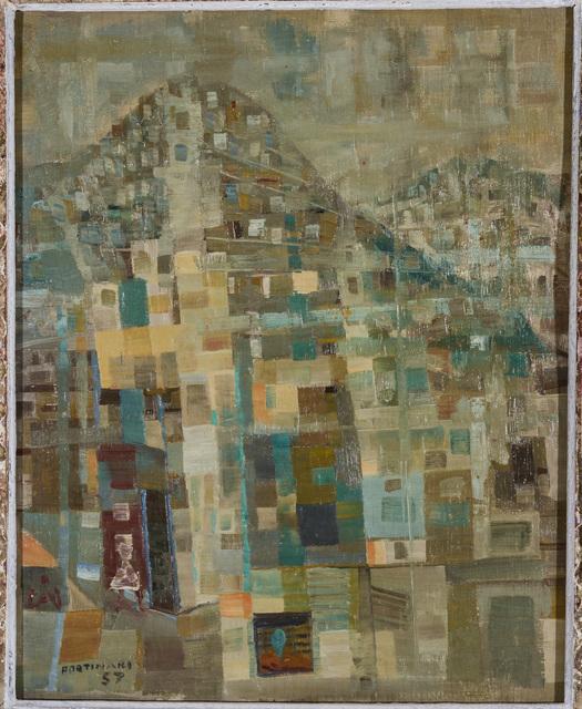 , 'Favela,' 1957, Galeria de Arte Ipanema