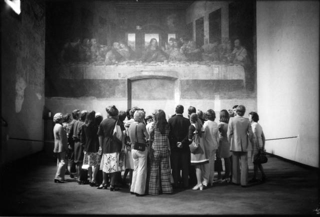Erich Hartmann, 'Art in Italy', 1974, Photography, Vintage silvergelatin print, °CLAIRbyKahn Galerie