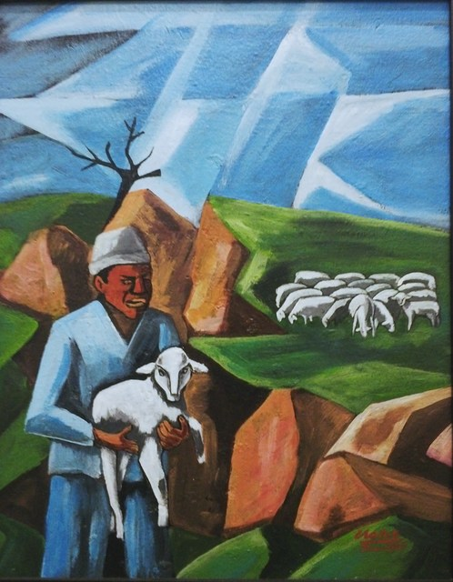 , 'The Shepherd and the Lost Sheep,' 1969, Luvey 'n Rose