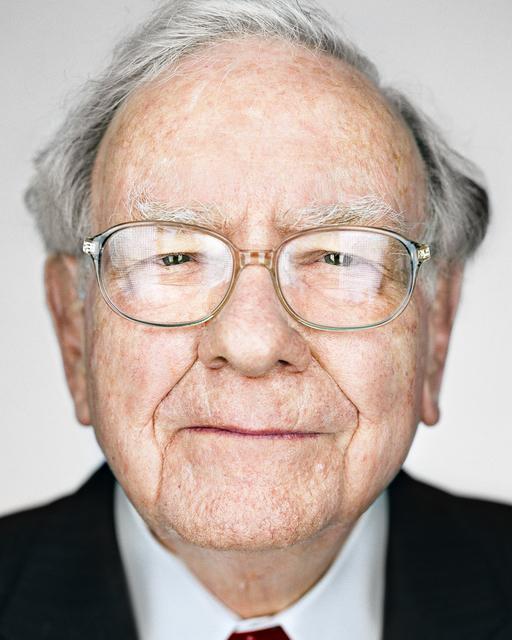 Martin Schoeller, 'Warren Buffett', 2016, CAMERA WORK