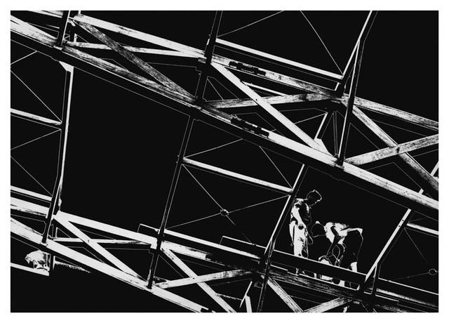 , 'Homens Trabalhando III,' 1959, Galeria da Gávea