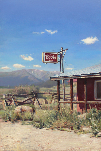 , 'Mountain Saloon,' 2015, Sue Greenwood Fine Art