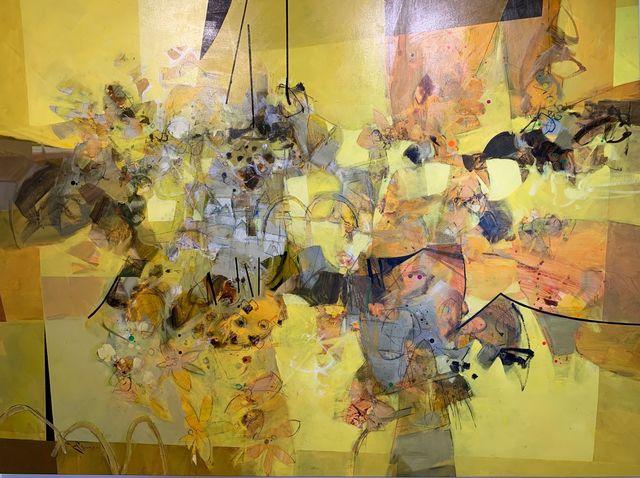 Ramon Chirinos, 'Yellow Composition I', 2019, Aldo Castillo Gallery