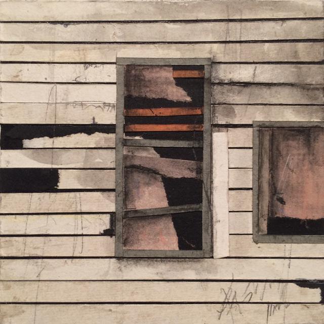 , 'Window Block (white 1),' 2015, BoxHeart
