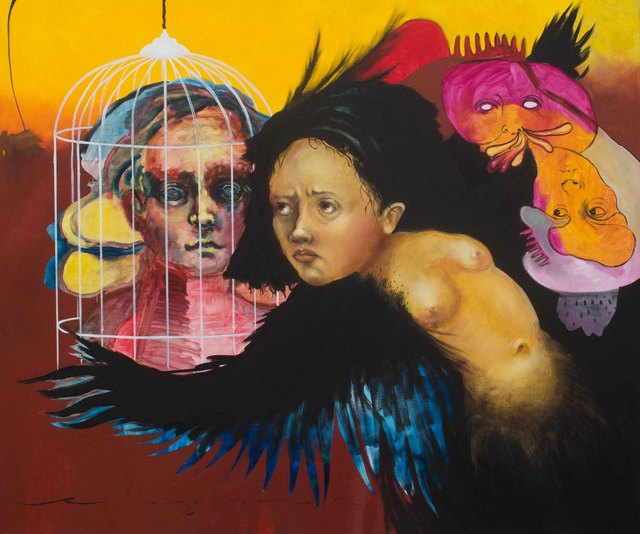 , 'La jaula,' 2016, Lux Perpetua Art Centre