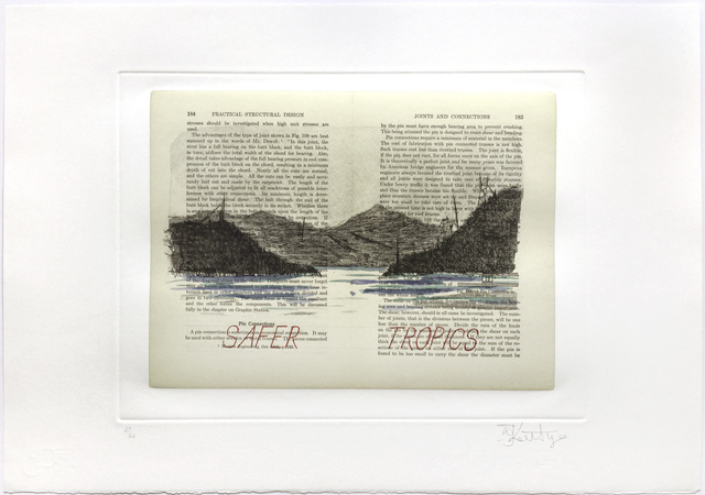 William Kentridge, 'Sleeping on Glass (Safer Tropics)', 1999, Jim Kempner Fine Art