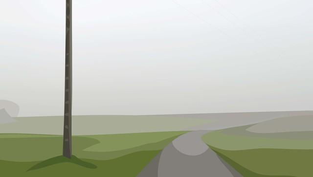 Julian Opie, 'Winter 52.', 2012, Cristea Roberts Gallery