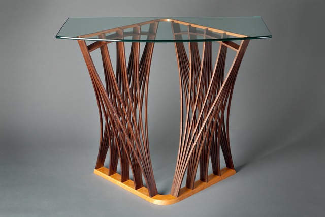 , 'Parabola Display Table,' 2011, Bellevue Arts Museum