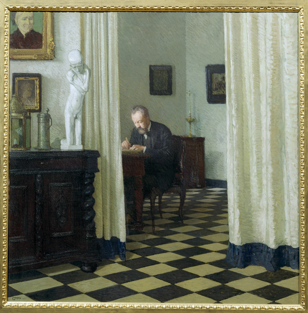 , 'Self Portrait in his Study,' 1906, The National Gallery, London