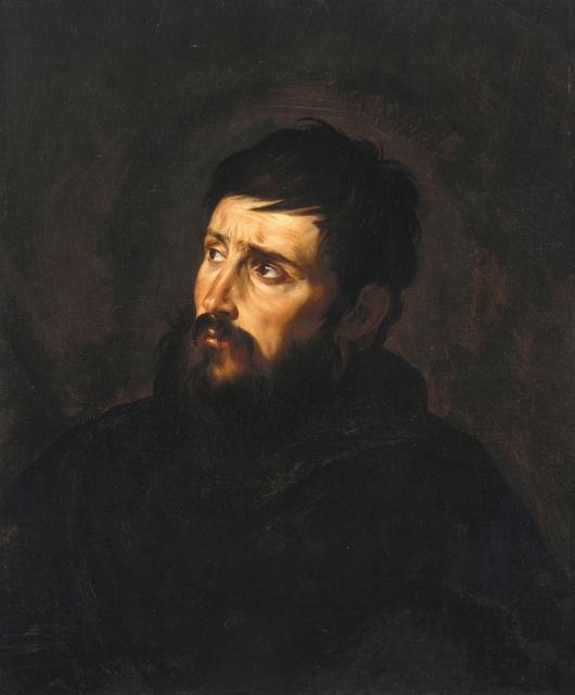 , 'Brustbild eines Mannes,' 1613-1615, Gemäldegalerie Alte Meister