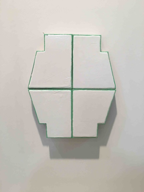 , 'FOUR PART POLYGON (FLAT),' 2016, FOLD Gallery