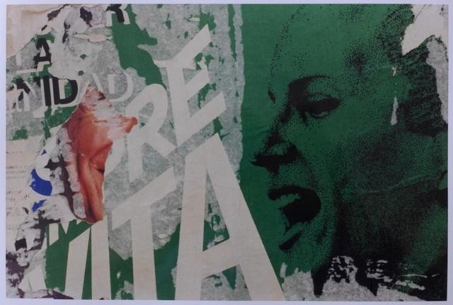 ", 'From the series ""Estampas Porteñas"", ""Evita siempre"",' 1987-2014, Rolf Art"