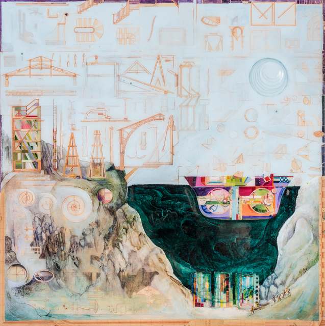 , 'Dazzle Ship,' 2018, John Martin Gallery