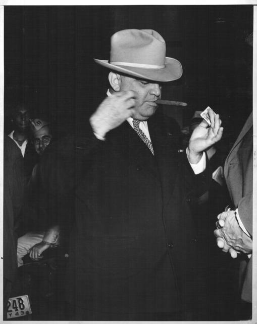 , 'FIORELLA LAGUARDIA LIGHTNING A CIGAR,' ca. 1940, Jörg Maass Kunsthandel