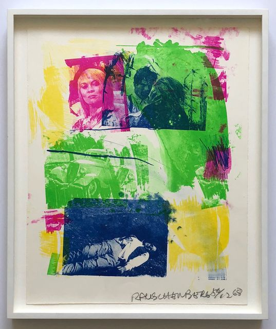Robert Rauschenberg, 'Storyline I, from Reels (B+C)', 1968, Joseph K. Levene Fine Art, Ltd.