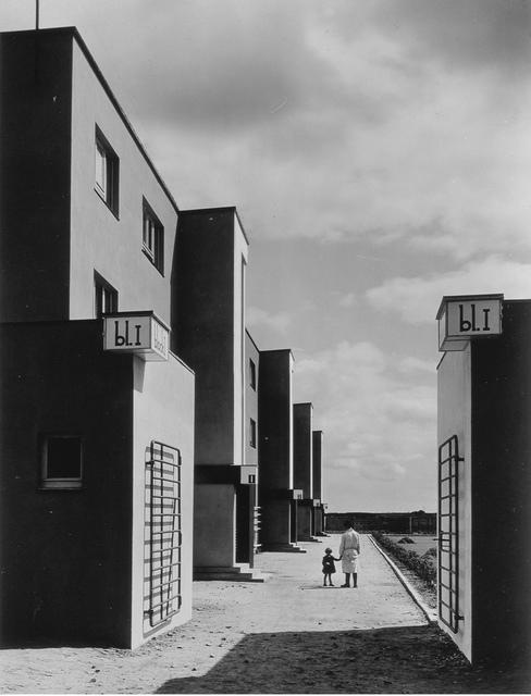 , 'St. Georgs-Garten Housing Settlement, Architect Otto Haesler (St. Georgs-Garten Siedlung, Architekt Otto Haesler),' 1920s, Los Angeles County Museum of Art