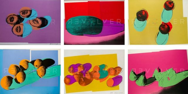 Andy Warhol, ' Space Fruit Full Suite (FS II.197-203)', 1979, Revolver Gallery