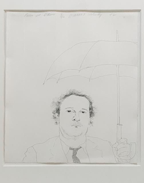 David Hockney, 'The Restaurateur', 1972, Fairhead Fine Art Limited
