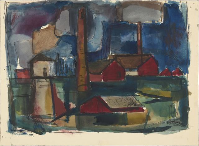 Richard Diebenkorn, 'Untitled', 1944, Richard Diebenkorn Foundation