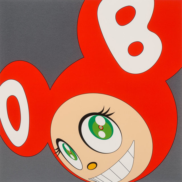 Takashi Murakami, 'And then and then and then and then and then (Red)', 1999, Heritage Auctions