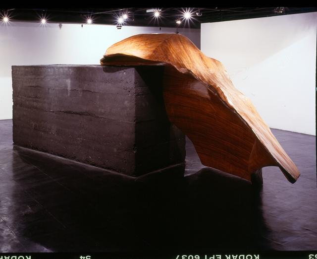 Nuno Ramos, 'Shackleton 2', 2000, Sculpture, Laminated wood and burnt pressed sand, Fortes D'Aloia & Gabriel