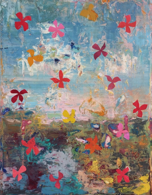 , 'Flutter,' 2018, Sara Nightingale Gallery